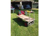 Hand cart barrow trolley