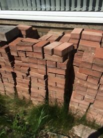Red monoblock bricks used