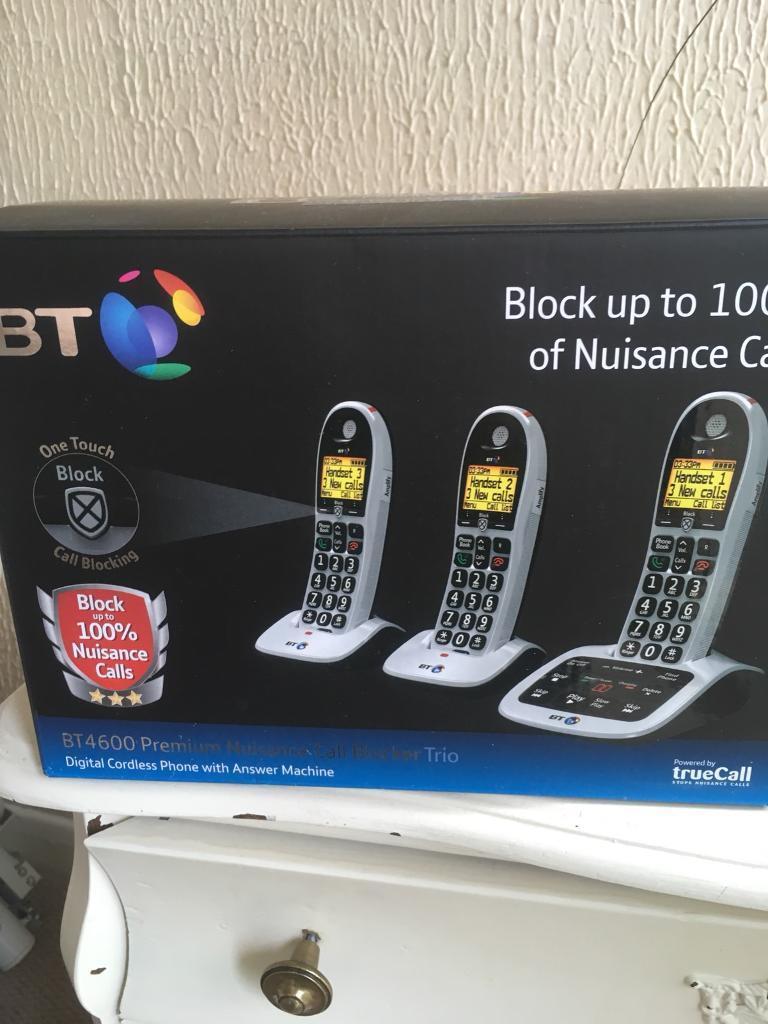 BT 3 cordless home phone x3 4600 model
