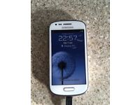 SAMSUNG GALAXY S3 MINI IMMACULATE CONDITION