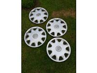 Vauxhall wheel caps