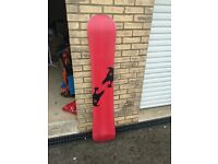 PRICE REDUCED!! 2x snowboards with bindings and bags