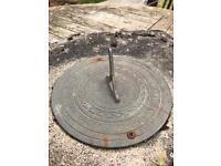 Stone based sundial