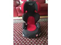 Graco car seat with 2 retractable cup holders excellent condition
