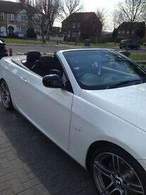 BMW 320i Sport Plus Edition Convertible White