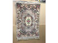 Superwashed Chinese Rug Aubusson Design - New 6' x 4'