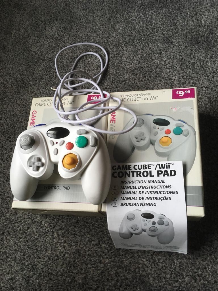 Nintendo Wii controllers GameCube