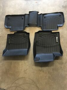 Mercedes OEM all weather mats  ML/GLE 2012 and up