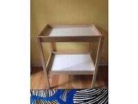 PRICE DROP! Changing table, Ikea Sniglar