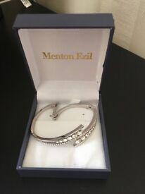 Menton Ezil Silver Bracelet