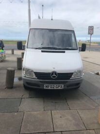 2002 Mercedes Sprinter 311 Cdi Lwb 2.2 Diesel Manual 12 Months MOT