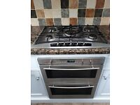 Neff oven, hob and double kitchen sink