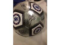 Chelsea Squad Signed Football