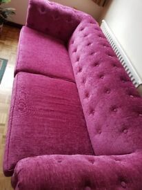 Sofa Chesterfield-style