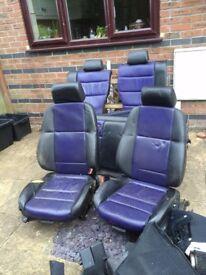 BMW E36 Sport Compact 318ti FREE black and purple seats etc