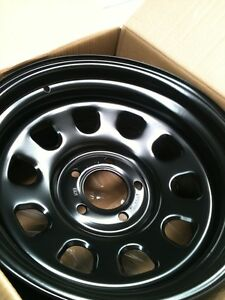 DRIFT-WHEELS-15-rims-steel-4-114-3-10P-BLACK-SKYLINE-180SX-SILVIA-S13-S14-JDM