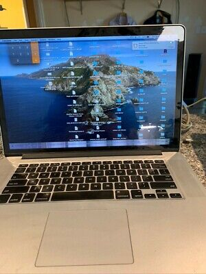 Mid 2015 MacBook Pro 2.8 GHz Quad-Core i7 16 GB 1TB SSD 1 Owner Extras bad LCD