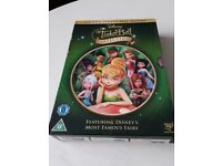 DISNEY TINKERBELL COLLECTION 5 FILM DISCS DVD BOX SET