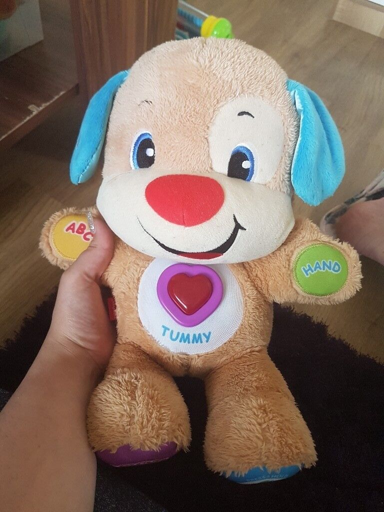 Fisher Price Laugh and Learn Smart Stages Puppyin Syston, Leicestershire - Fisher Price Laugh and Learn Smart Stages Puppy great for little ones to sing and dance with in excellent condition collection only