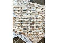 Cream Mosaic Tiles