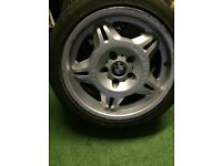 BMW M Series Original 17 inch Alloy Wheel and Tyre