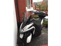 Yamaha tricity 125 2016 with all accessories and low mileage