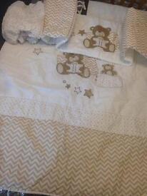Bear cot set