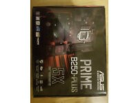 ASUS PRIME B250-Plus Motherboard - Black (Socket 1151/DDR4/S-ATA 600/ATX) - Brand New in Box, sealed
