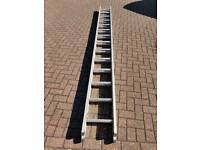 Abru Starmaster DIY 3. 94 metre Aluminium class 3 Ladder. Approx extended 7.18 meters.
