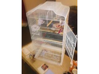 For sale is a large bird cage