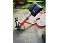 Gymano hyperextension bench back gym machine