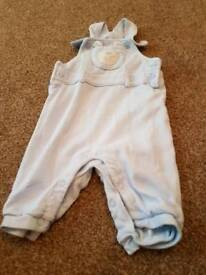 3-6 month baby boy dungarees