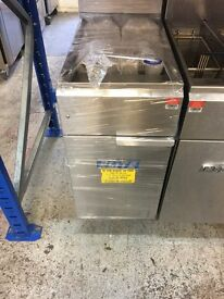 Elite Single Tank Twin Basket Natural Gas Fryer