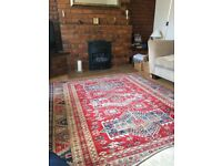 Traditional Kazak rug 100% wool Excellent Condition