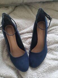 size 5 new look navy comfort heels collection antrim