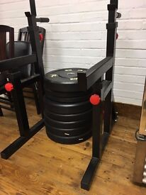BODYMAX CF415 SQUAT AND DIP RACK WITH SPOTTER CATCHERS