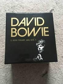 David Bowie 5Yrs 1969-73 CD Box Set STILL FOR SALE 21/6/17
