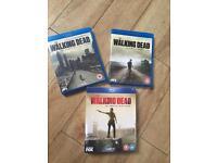 Walking Dead blu ray season 1,2,3 -3 brand new in box