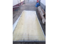 Used Polycarbonate roofing sheets