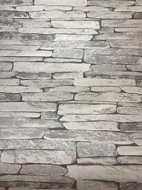 Brand new slate effect wallpaper