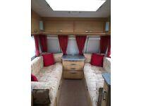 Great condition Lunar Quasar FB 2009 6 berth caravan plus full size awning & extras