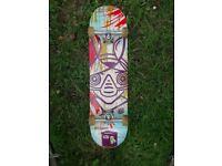 Alien Workshop Skateboard, Bullet Trucks, 52mm Death wheels. Barely used