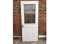 Glazed door for sale in good condition , now surplus to requirements