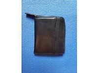 Lloyd Baker Leather Half Zip Wallet