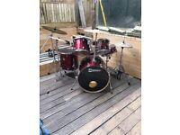 5 piece premier drum kit