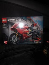 Brand new Ducati technic Lego