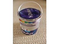 Dulux Violet Verona 6 FV6 Light Pink Matt Paint for Walls & Ceilings Approx 2/3 of 2.5L Tin Left