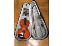 Windsor 1/4 Size Violin Outfit - includes Lightweight Zipped Case