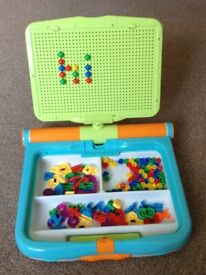 Kids Magnetic Activity Board - Spelling and Counting