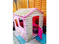 Wendy house and garden toy bundle